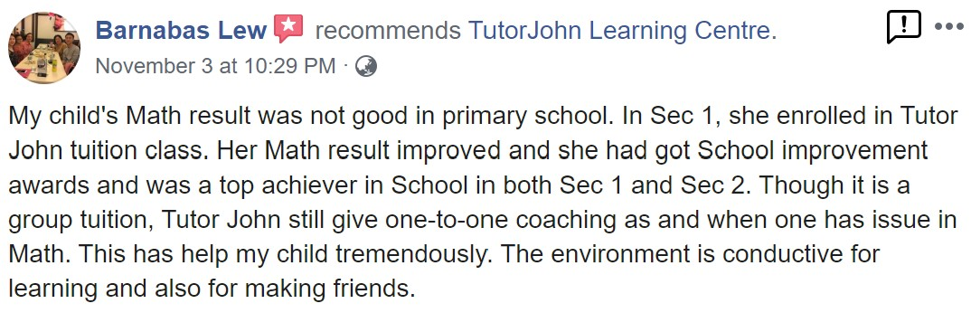 TutorJohn Learning Centre review 2