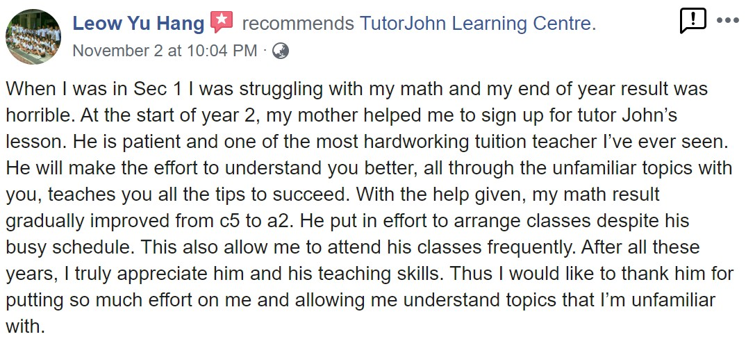 TutorJohn Learning Centre review 4