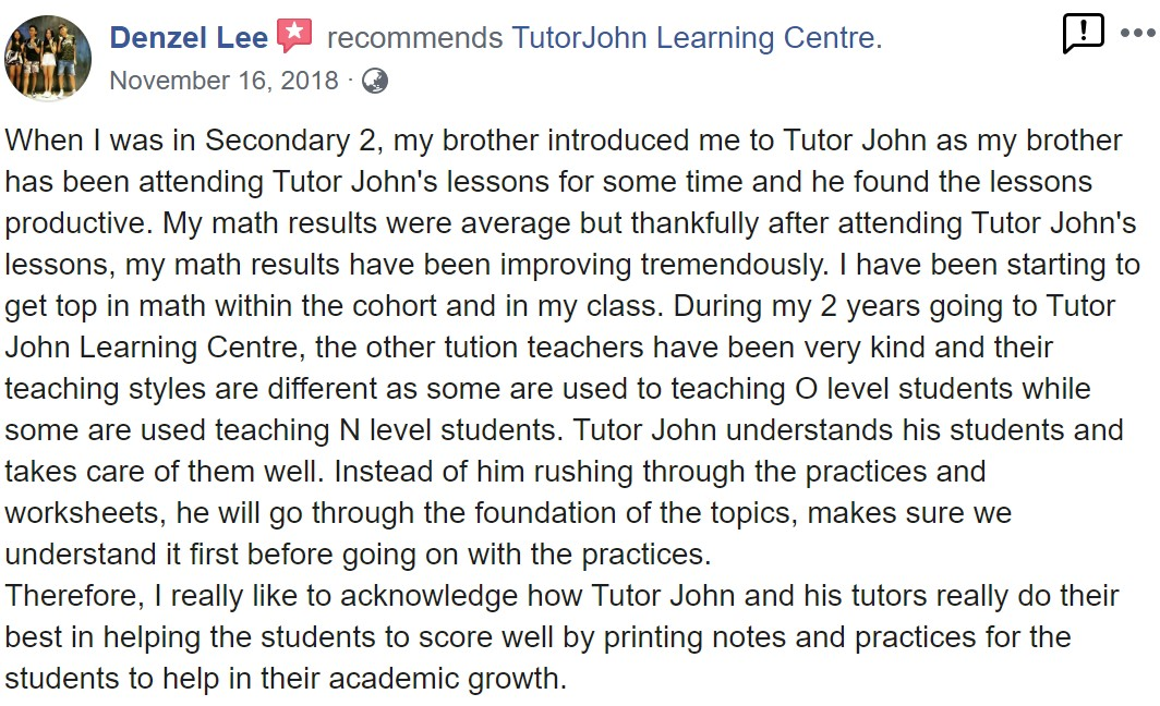 TutorJohn Learning Centre review 6