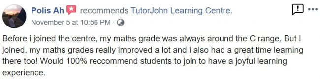 TutorJohn Learning Centre review 5